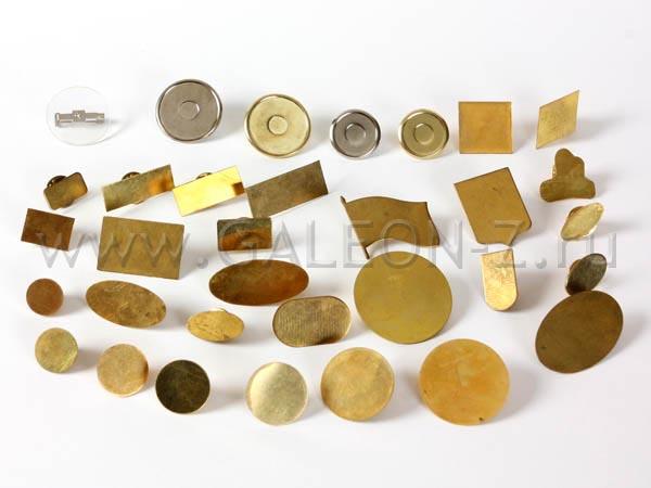 Заготовки значков для заливки смолой - Золотой Галеон | Golden Galeon