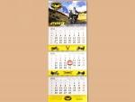 Календарь квартальный постер А4