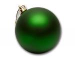Шар пластиковый зеленый