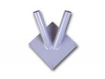 Настенный флагшток металл