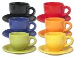 Чайная пара цветная 100 мл