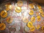 Значки в пакетике Зиплок