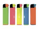 Зажигалки пьезо разноцветные