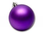 Шар пластиковый фиолетовый